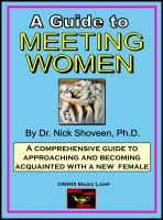 How to meet woman-Gene Grosman